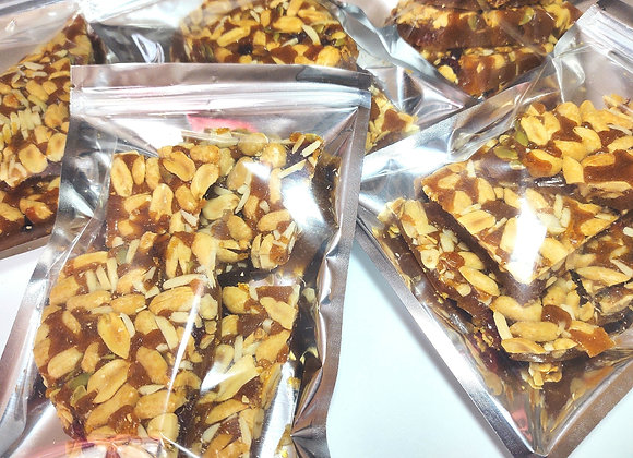 Nutty Ginger Candy