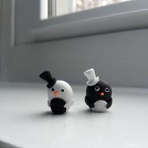 Fancy Penguin Duo