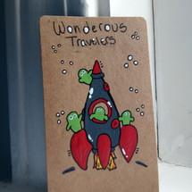 Crusader Card ~ Wonderous Travelers