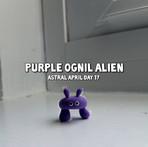 Purple Ognil Alien