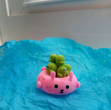 Bunny Floaty with Cacti