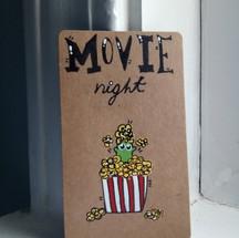 Crusader Card ~ Movie Night