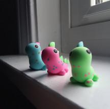 Custom Dino Trio