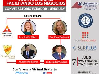 Conversatorio Ecuador - Uruguay. Compañías SAS: facilitando negocios.