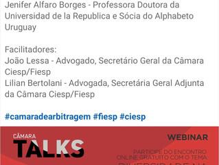 La Dra Alfaro es panelista del evento de CIESP/FIESP (Brasil) sobre Diversidad en el Arbitraje