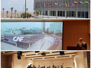 CAF Banco de Desarrollo de América Latina inaugura su nueva Sede en Montevideo. ALPHABETO Uruguay pr