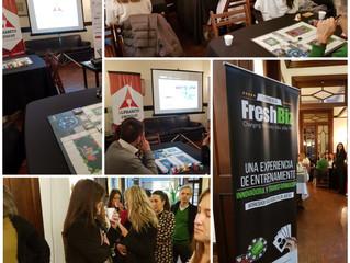 ALPHABETO FreshBiz, siguen los eventos lanzamiento en el Uruguay: Con Cámara española de Comercio (2