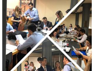 Nuestra socia, la Dra Rosa Poziomek concluye un nuevo curso en la Maestría en Derecho Comercial de l