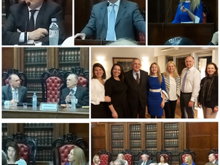 Dialogo Rioplatense de Arbitraje, Buenos Aires, UBA, agosto 2019. Expone nuestra socia fundadora Dra