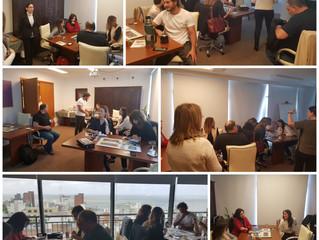 Alphabeto Uruguay recibe a amigos empresarios y consultores en un nuevo Workshop FreshBiz. Octubre,