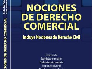"""Libro """"Nociones de Derecho comercial - Nociones de Derecho civil"""", de las Dras Poziomek y"""
