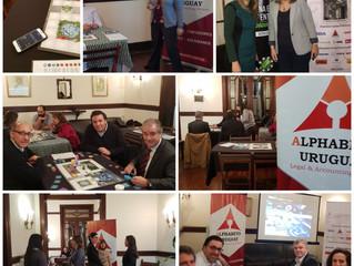 ALPHABETO FreshBiz, comienzan los eventos lanzamiento en el Uruguay: Con Cámara española de Comercio