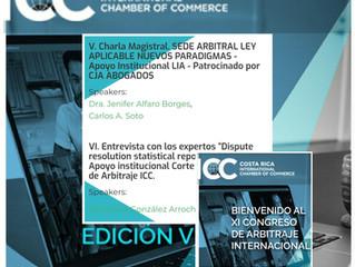 La Dra Jenifer Alfaro Borges será expositora en el XI Congreso de Arbitraje Internacional de la Inte