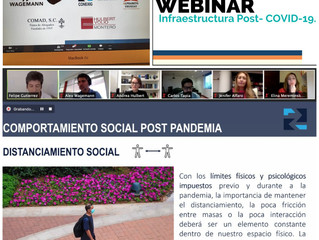 La Dra Esc Jenifer Alfaro Borges es una de las expositoras del Webinar Infraestructura COVID 19, de