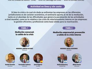 """Seminario internacional """"La Mediación empresarial como salida de la crisis"""". Asociación de"""