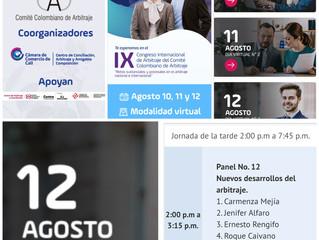 IX Congreso Internacional de Arbitraje, Comité Colombiano de Arbitraje. Expone la Dra Jenifer Alfaro