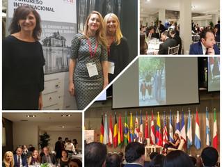 Nuestras socias, las Dras Rosa Poziomek y Jenifer Alfaro, participan en Madrid del Congreso 2019 del