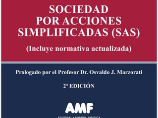 Se agosta la primer Edición del libro de Sociedades comerciales de las Dras Poziomek y Alfaro. Segun
