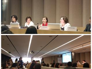 CEA Mujeres en Madrid. Alphabeto Uruguay presente
