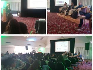 Nuestra socia fundadora, Dra. Jenifer Alfaro Borges, expone sobre Arbitraje Comercial Internacional