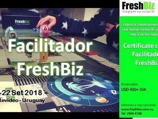 Curso de Formación de Facilitadores FreshBiz, 21 y 22/9. Montevideo.