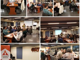 Alphabeto FreshBiz, siguen los eventos lanzamiento en el Uruguay: Con ORT Profesores y Emprendedores