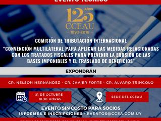El Cr Alvaro Tringolo expone sobre Fiscalidad Internacional en Evento Técnico del Colegio de Contado
