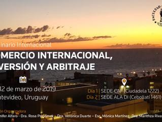 Importante evento nuclea en Uruguay especialistas del Arbitraje Internacional.