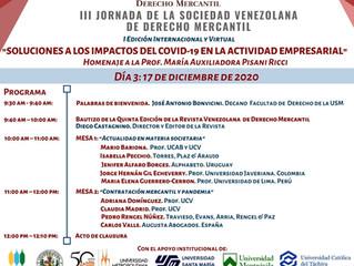 La Dra Jenifer Alfaro, expone en evento de la Sociedad Venezolana de Derecho Mercantil.