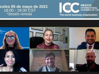 La Dra Jenifer Alfaro Borges fue expositora en el evento organizado por ICC México.