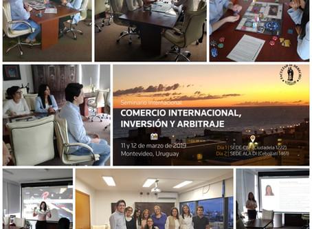 Voluntarios del Seminario Internacional de Arbitraje pasan por la Experiencia FreshBiz