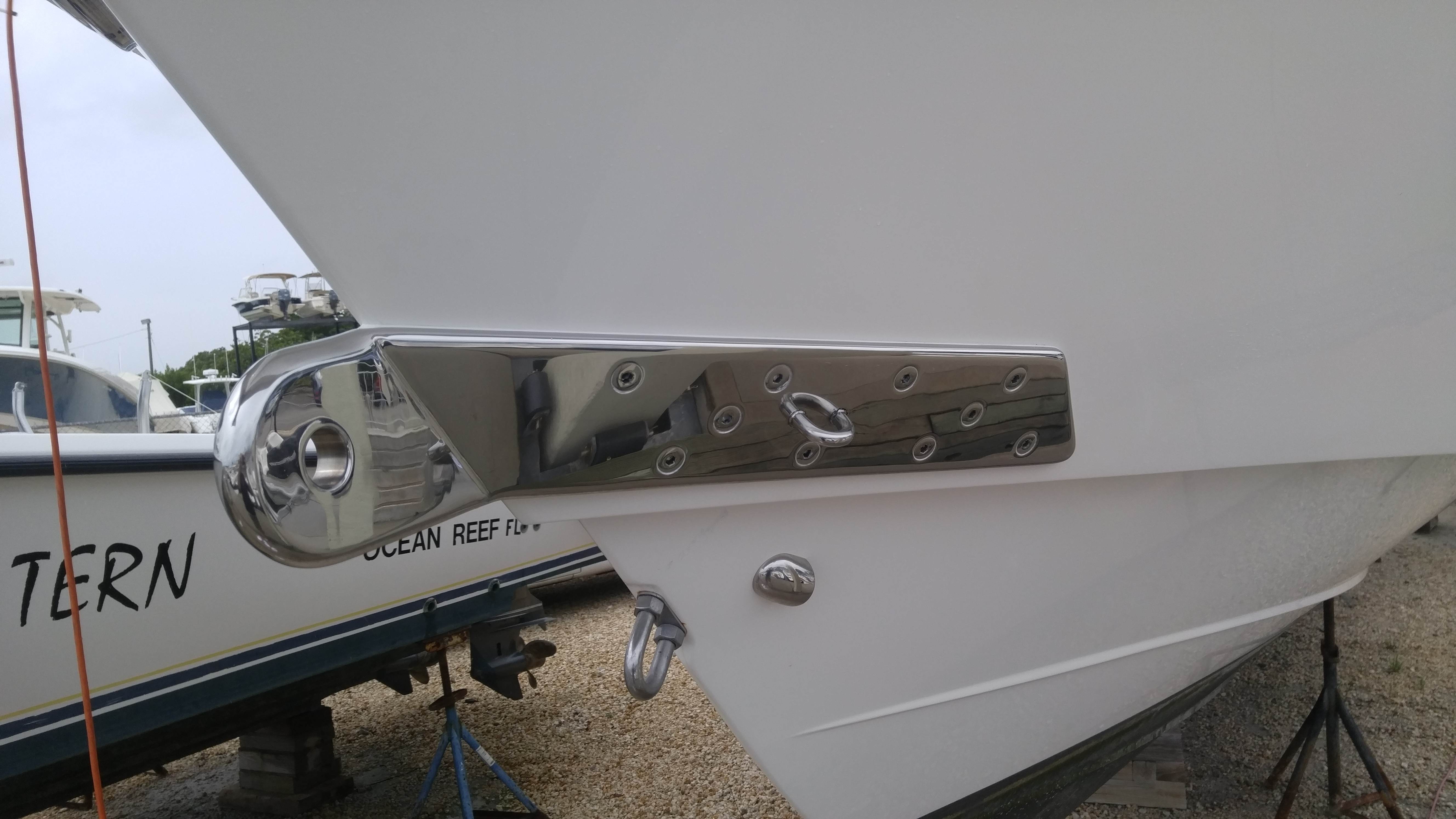 Custom towing hook