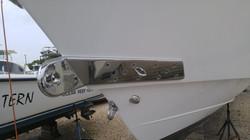 Custom towing hook