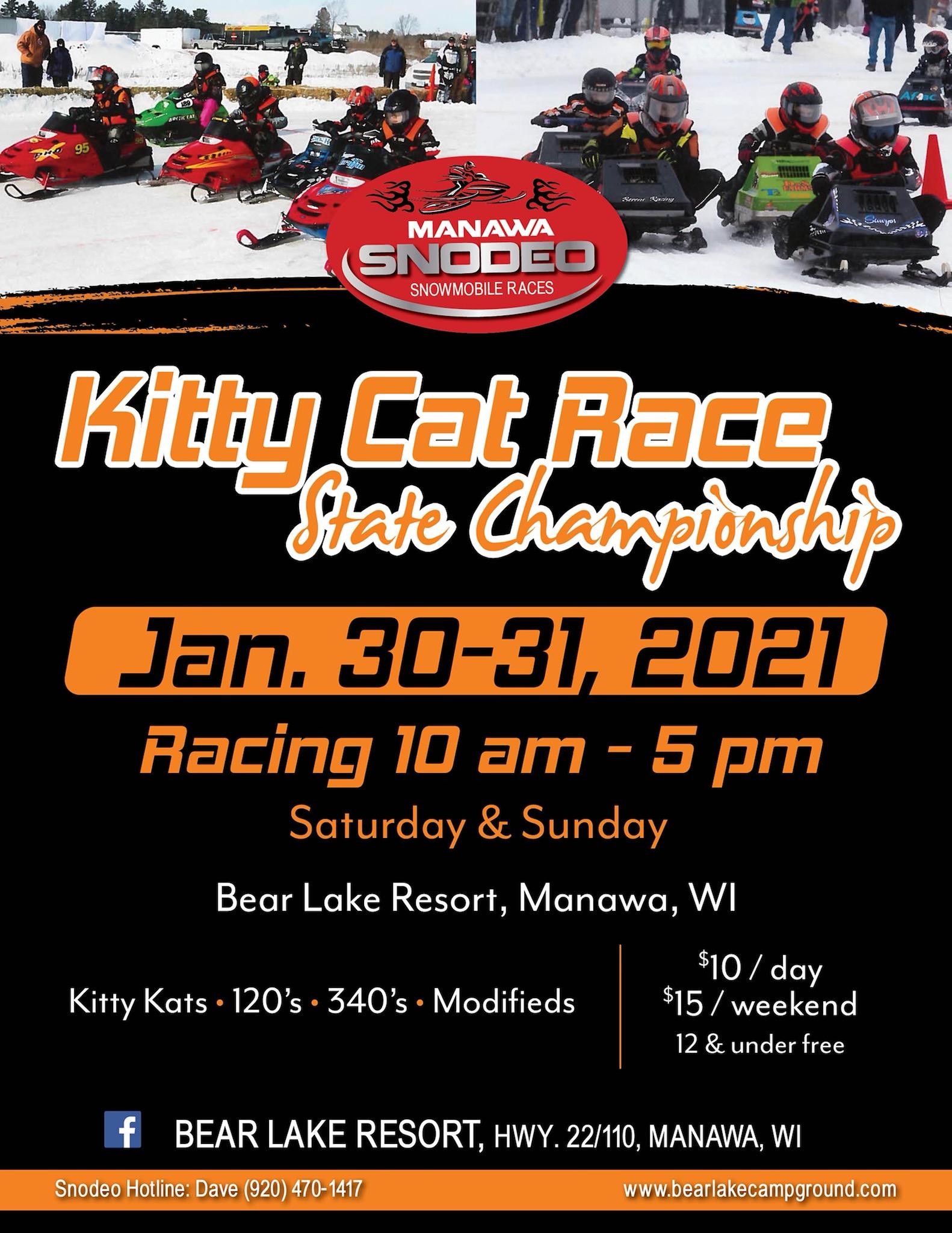 Kitty Cat Races - January 30-31
