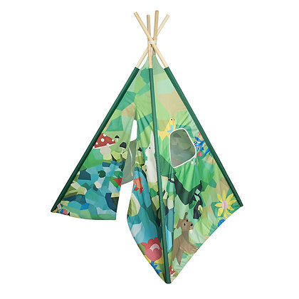 Teepee Bosque - Full Color