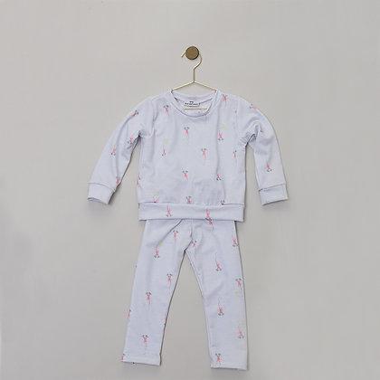 Pijama 2 Piezas Fogatas