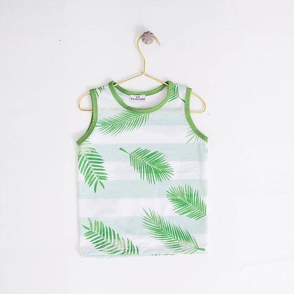 Camiseta Tropical Verde