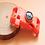 Thumbnail: Fivela bracelete - TIC TAC - preto