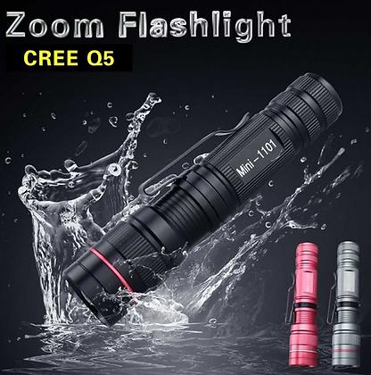 Mini lanterna à prova d'água - CREE Q5 LED