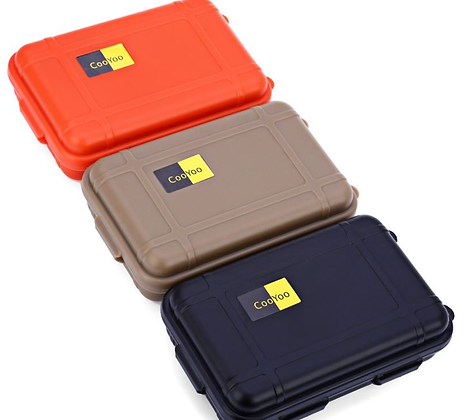 Caixa estanque - box - case - cor preta