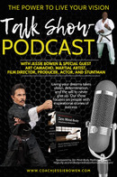 The Power to Live Your Vision Podcast With GM Jessie Bowen & Special Guest Art Camacho  Art Camacho is an American martial artist, film director, producer, actor and stuntman. His directorial work includes Recoil in 1998, 13 Dead Men in 2003, Confessions of a Pit Fighter in 2005 and Half Past Dead 2 in 2007; Assassin X in 2016, and Wild League in 2018.  Art Camacho is considered one of the most accomplished directors, fight choreographers and stuntmen in independent martial arts films.
