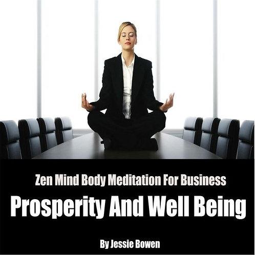 Jessie Bowen - Zen Mind-Body Business Prosperity Meditation
