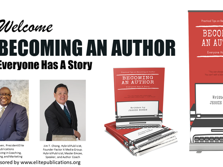 The Power to Live Your Vision – Become An Author