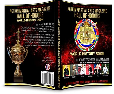 Action Martial Arts Magazine World History Book Edition