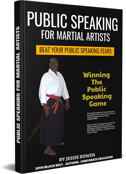 Public Speaking for Martial Arts Master
