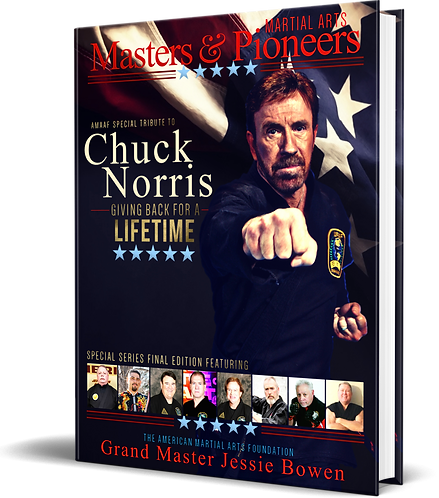 Martial Arts Masters & Pioneers Volume 3 Softcover - Tribute to GM Chuck Norris
