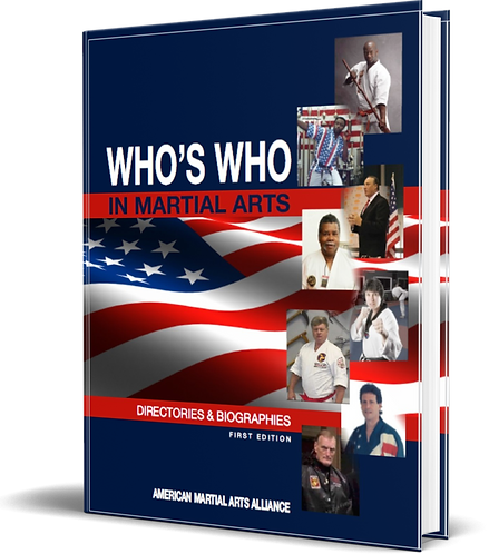 AMAA WHO'S WHO in the Martial Arts Autobiography