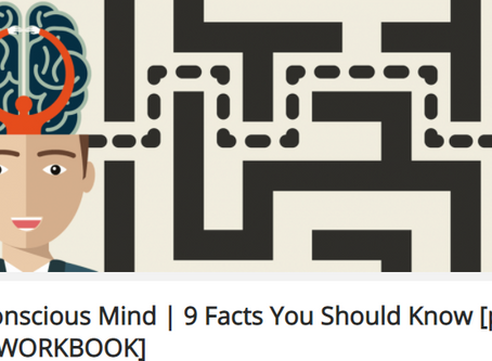 SubconsciousMind| 9 Facts You Should Know [plus FREE WORKBOOK]