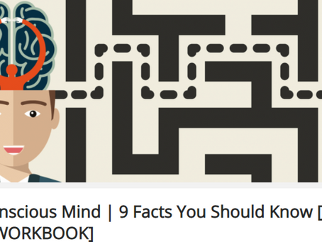 Subconscious Mind | 9 Facts You Should Know [plus FREE WORKBOOK]