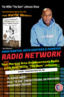 """The Warrior Mindset with Willie """"The Bam"""" Johnson Show -Guest Isaac Florentine  The Warrior Mindset with Willie """"The Bam"""" Johnson Show Join me on my new Blog Talk Radio Show on the American Martial Arts Alliance Masters Radio Network.  Today's Guest  - Isaac Florentine. Isaac Florentine is an Israeli film director. He is best known for his martial arts and action genre films, namely Undisputed II: Last Man Standing, Undisputed III: Redemption, Ninja, Ninja: Shadow of a Tear and Close Range and for launching the career of British actor Scott Adkins."""